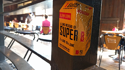 super 8 sticker