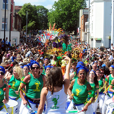 St Pauls Carnival, Bristol events in July