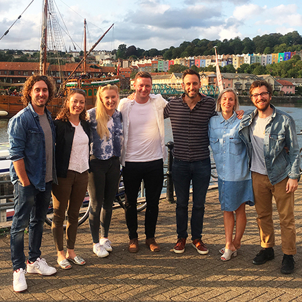 Meanwhile Creative team photo - Bristol