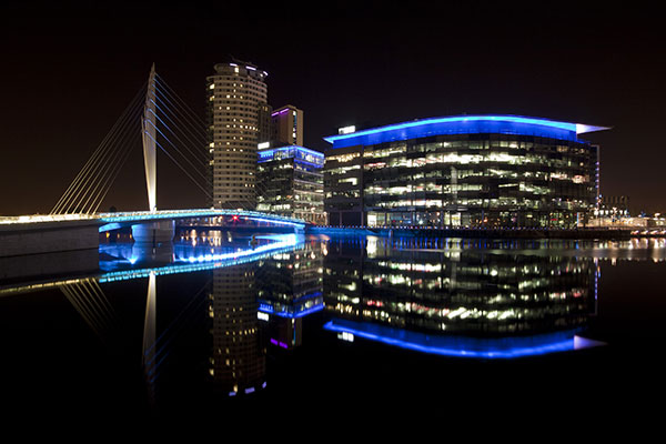 Mediacity in Manchester